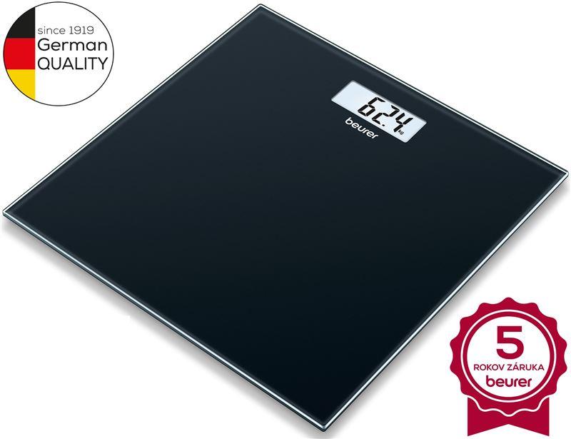 Digitálna osobná váha BEURER GS 10 Black
