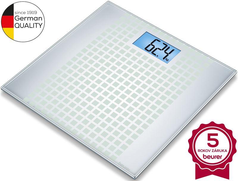 Digitálna osobná váha BEURER GS 206 Squares