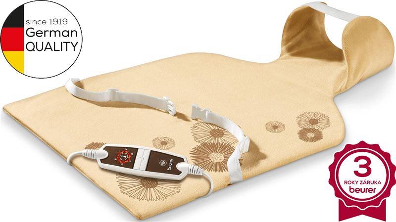 Elektrická výhrevná poduška na plecia krk  a chrbát BEURER HK 58