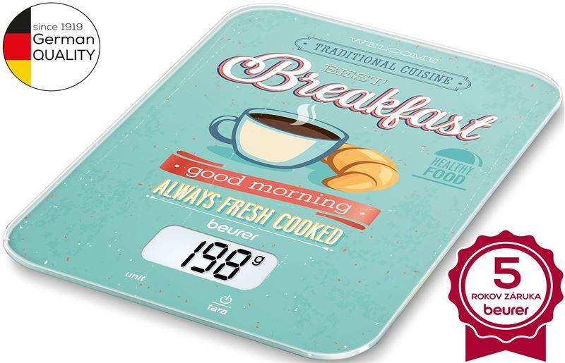 Váha kuchynská digitálna BEURER KS 19 Breakfast
