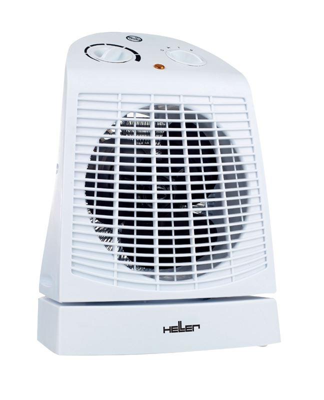 Teplovzdušný ventilátor s osciláciou Heller HL 809 B