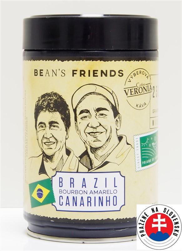 Káva Veronia Brazil Bourbon Amarelo