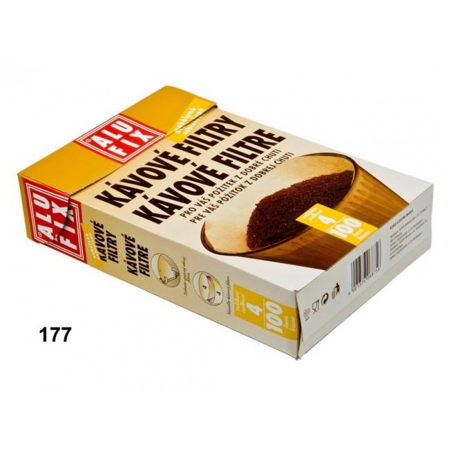 Filter do kávovaru č. 4 papier. á100ks