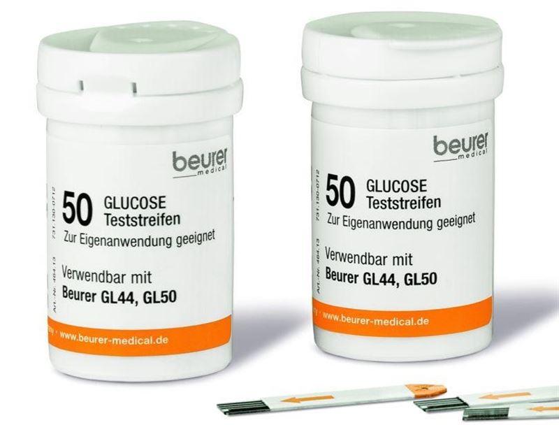 BEURER GL44/50/50er2 testovacie prúžky