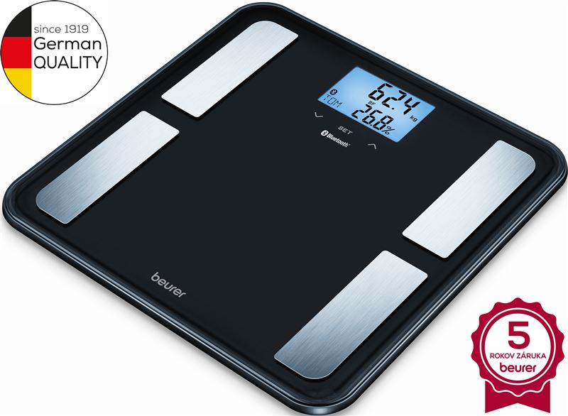 Váha osob./diagnost. BEURER BF 850 Black