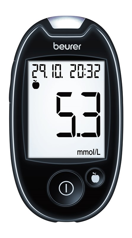 Glukomer BEURER GL 44 black mmol/L