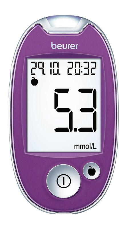 Glukomer BEURER GL 44 purple mmol/L
