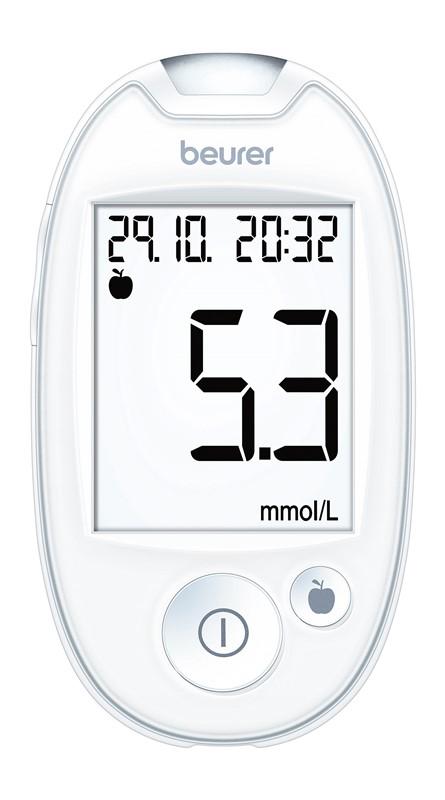 Glukomer BEURER GL 44 white mmol/L