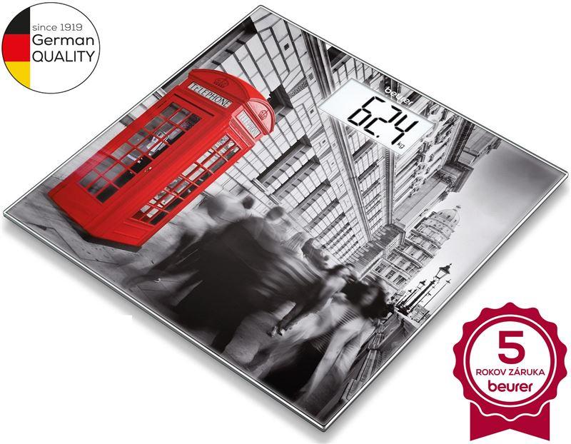 Digitálna osobná váha BEURER GS 203 London