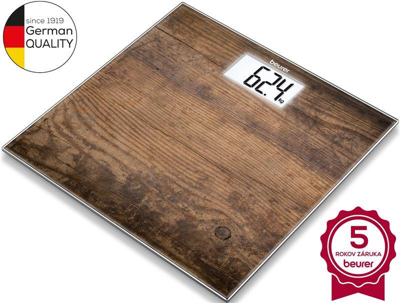 Digitálna osobná váha BEURER GS 203 Wood