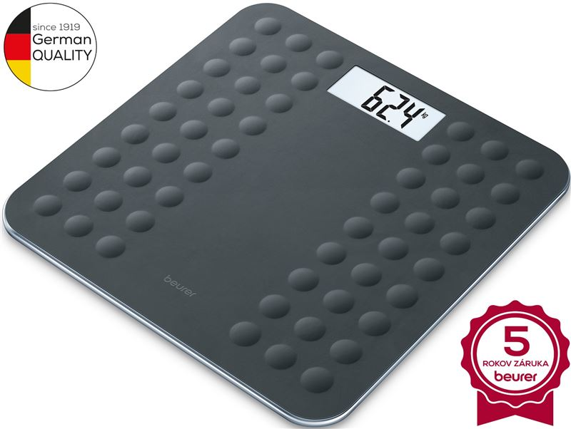 Digitálna osobná váha BEURER GS 300 Black
