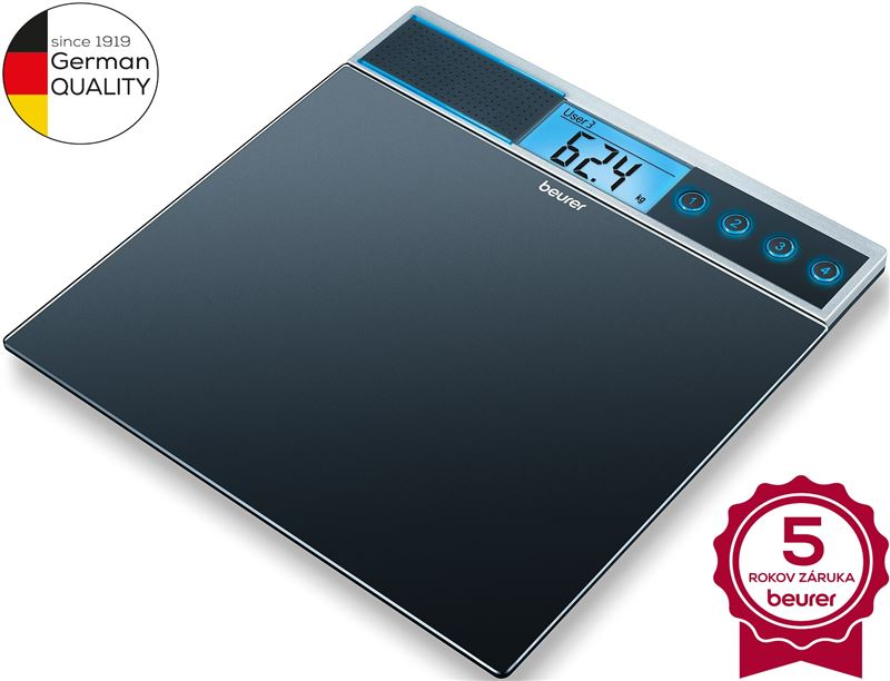 Digitálna osobná váha BEURER GS 39