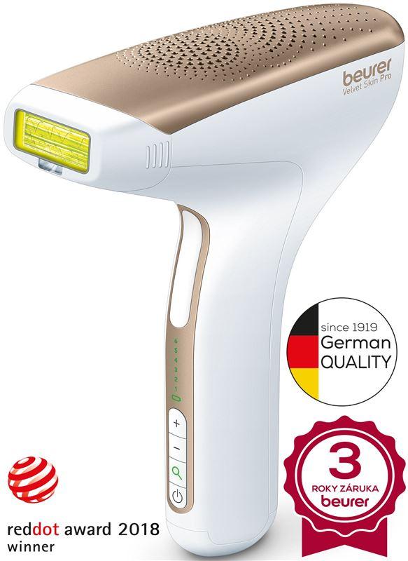 Prístroj pre dlhodobé odstránenie chĺpkov BEURER IPL 8500 Velvet skin pro