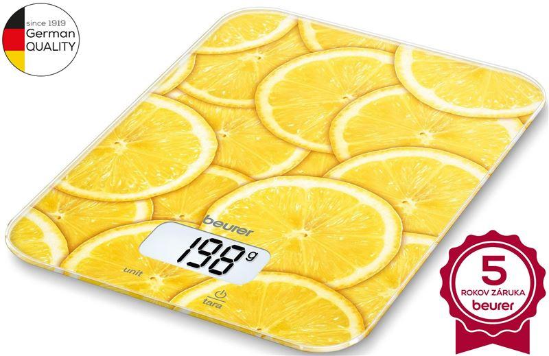 Váha kuchynská digitálna BEURER KS 19 lemon