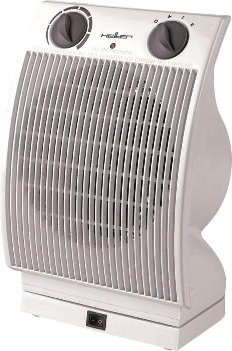 Teplovzdušný ventilátor s osciláciou Heller HL 806 B