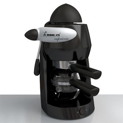 Kávovar Cappriccio MOMERT 1160 čierny