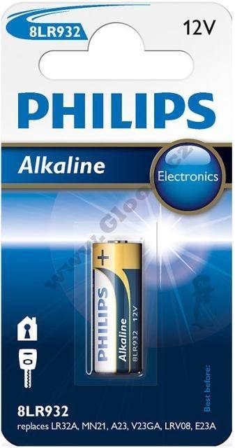 Batéria Philips 8L932 alkaline button c