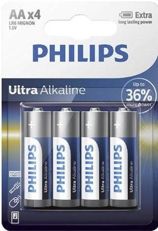 Batéria Philips ULTRA ALKALINE LR6-P4