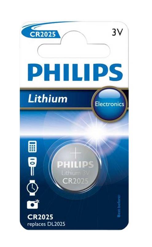 """Batéria Philips CR 2025 lith.      """"BLIS"""