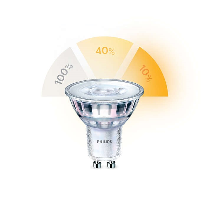 Philips LED SceneSwitch GU10 50/20/5W 827 36D