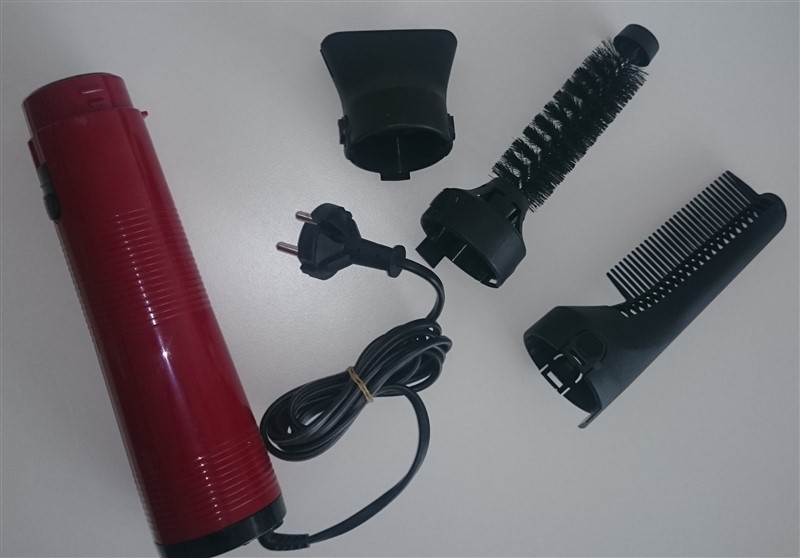 Kulmofén SCHOTT HFG 2 set červený