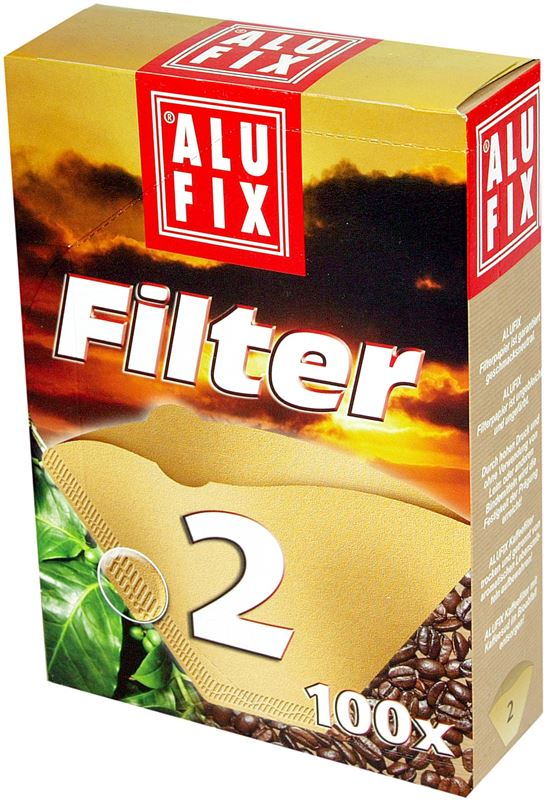 Filter do kávovaru č. 2 papier. á100ks