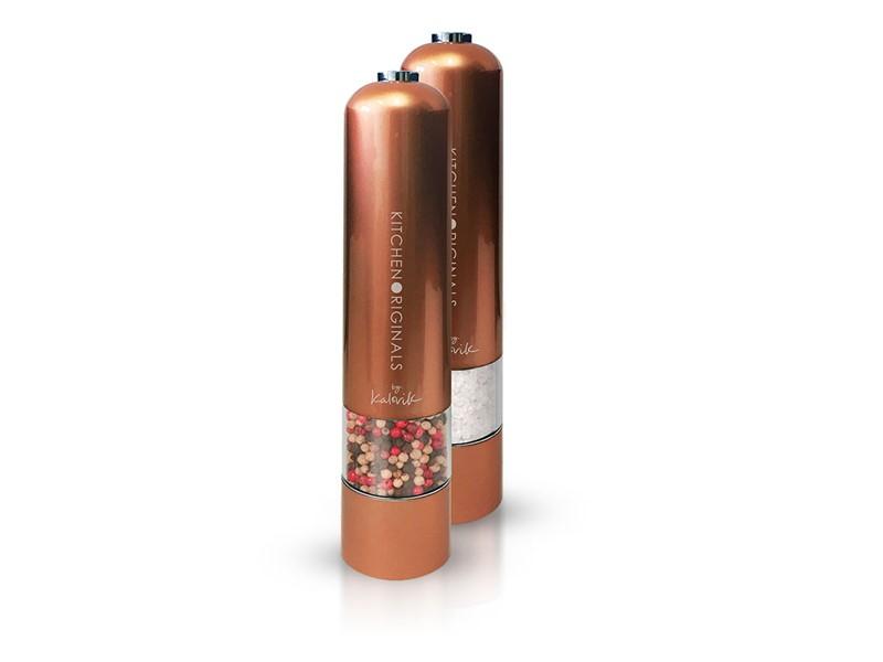 Elektrický mlynček na korenie a soľ TKG PSGR 1050 CO