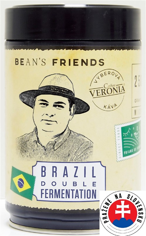 Káva Veronia Brazil Double Fermentation