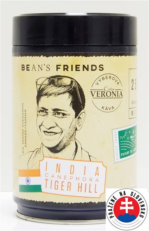 Káva Veronia India Tiger Hill